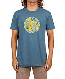 Men's Island Spirit Circle Logo Graphic T-Shirt