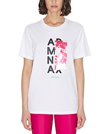 Armani Exchange Short Sleeve Graphic AX Logo Tee