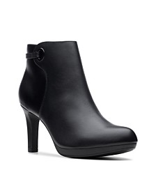 Clarks Collection Women's Adriel Mae Heeled Booties