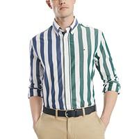 Tommy Hilfiger Men's Classic-Fit Maiden Bar Striped Shirt