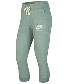 Gym Vintage Capri Pants