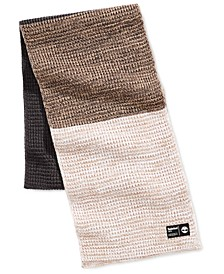Men's Heat Retention Colorblocked Thermal Muffler, Created for Macy's