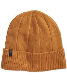 Men's Ribbed Watch Cap, Created for Macy's