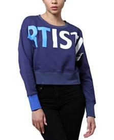 ARTISTIX Cotton Logo-Graphic Sweatshirt