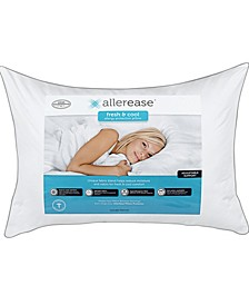 Fresh and Cool Allergy Protection Standard/Queen Pillow
