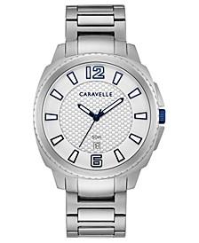 Men's Stainless Steel Bracelet Watch 41mm