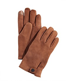 Men's Leather Tech Gloves