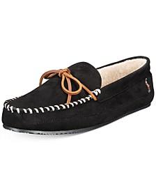 Men's Faux-Suede Slippers