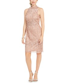 Adrianna Papell Petite Embellished Sheath Dress