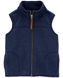 Toddler Boys Fleece Zip-Up Vest