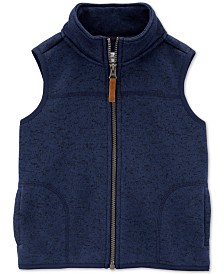 Carter's Toddler Boys Fleece Zip-Up Vest