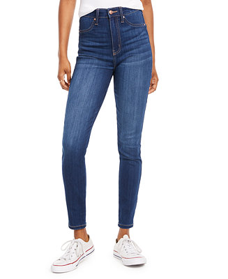 Juniors' Skinny High Waisted Jeans by General