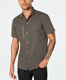 I.N.C. Men's Phillips Utility Shirt, Created for Macy's