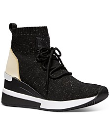 Skyler Wedge Sneakers