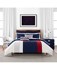 Clash of 85 Stripe 3 Piece King Comforter Set