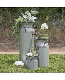 VIP Home & Garden Metal Water Fountain