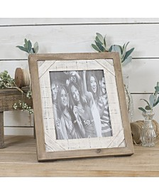"""VIP Home & Garden Antique Wood 14.8"""" Picture Frame"""