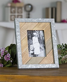 VIP Home & Garden Vertical Wood Tabletop Picture Frame