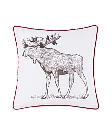 C&F Home Holly Moose Pillow