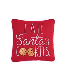 C&F Home I Ate Santa's Cookies Pillow