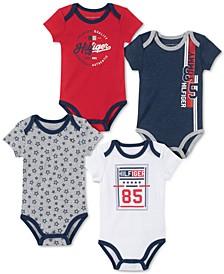 Baby Boys 4-Pk. Bodysuits