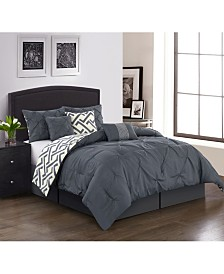 Loren 7-Piece California King Comforter Set