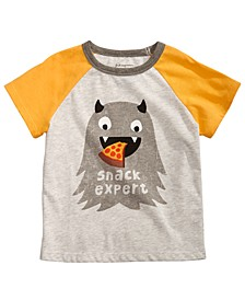 Toddler Boys Graphic-Print Colorblocked Raglan T-Shirt, Created for Macy's