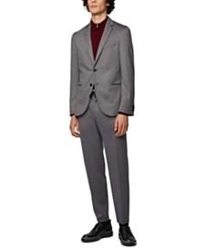 BOSS Men's Barlo Regular-Fit Troyer Sweater