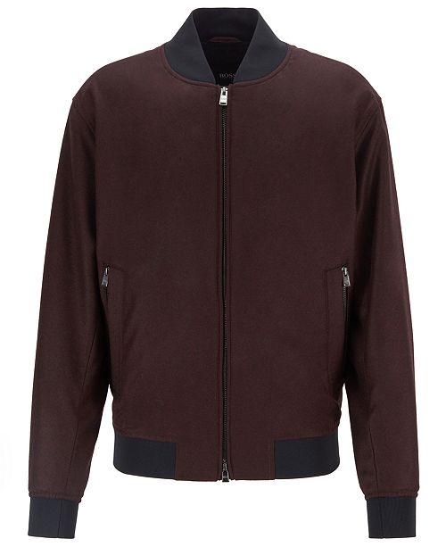 profiter du prix de liquidation Garantie de satisfaction à 100% Braderie BOSS Men's Blouson-Style Bomber Jacket
