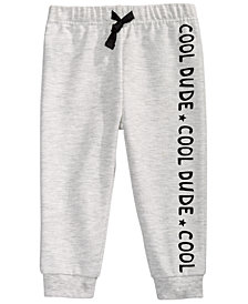 First Impressions Toddler Boys Cool Dude Jogger Pants, Created For Macy's