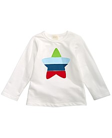 Baby & Toddler Boys Bold Star Appliqué T-Shirt, Created For Macy's