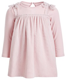 Baby Girls Layered-Look Sparkle Tulle Dress, Created for Macy's