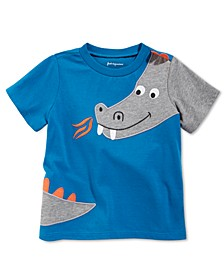 Baby Boys Dragon-Print Cotton T-Shirt, Created for Macy's
