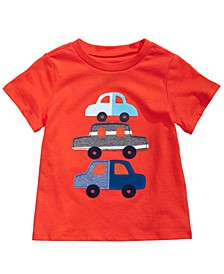 Toddler Boys Cars-Print Cotton T-Shirt, Created for Macy's