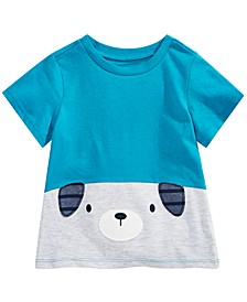 Toddler Boys Cotton Colorblocked Puppy T-Shirt, Created for Macy's