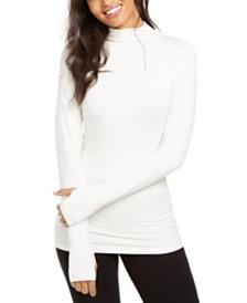 Elie Tahari Mock-Neck Sweater