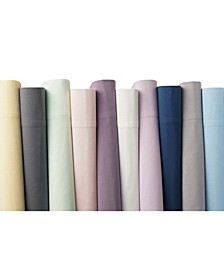 Solid Cotton Percale Sheet Set