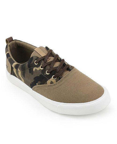 XRAY Men's Camo Low-Top Sneaker