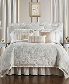 Waterford Belissa Reversible King 4 Piece Comforter Set