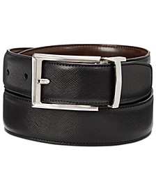 Men's Saffiano Leather Reversible Belt