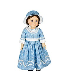 1800's American Historic Style Dress and Hat