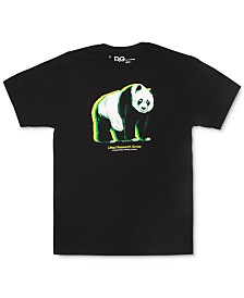 LRG Men's Glowing Panda Graphic T-Shirt