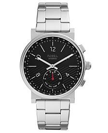 Fossil Q Men's Barstowe Stainless Steel Bracelet Hybrid Smart Watch 42mm
