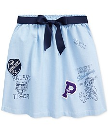 Polo Ralph Lauren Big Girls Classic Oxford Varsity Skirt