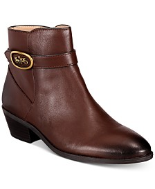 COACH Dylan Horse-And-Carriage Booties