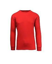 Galaxy By Harvic Men's Waffle Knit Thermal Shirt