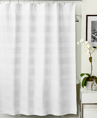 hotel collection woven pleat shower curtain shower curtains bed