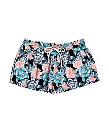 Roxy Little Girl Feeling Alive Printed Front Tie Short