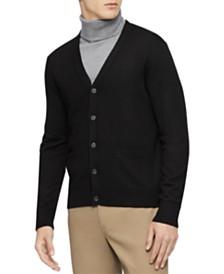 Calvin Klein Men's Colorblocked Cardigan Sweater