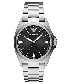 Men's Stainless Steel Bracelet Watch 40mm
